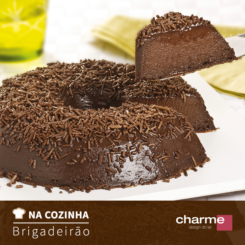 CHARME - NA COZINHA - BRIGADEIRAO