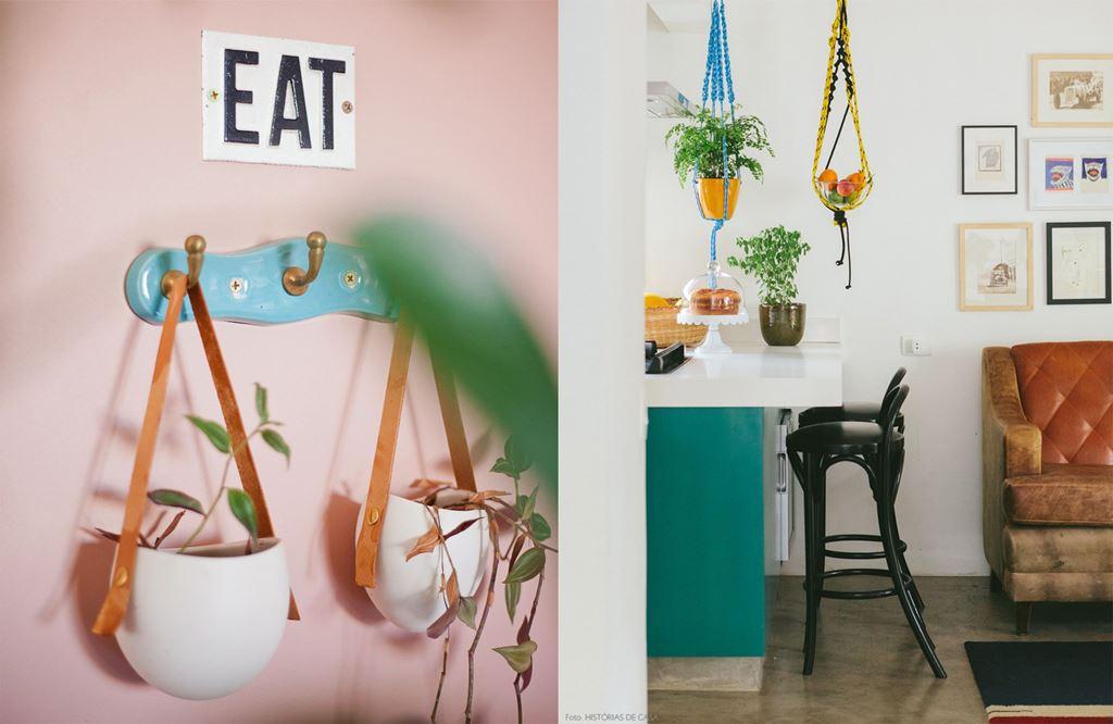 Referências de decoração com plantas