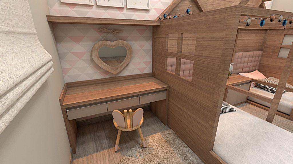 Decoração quarto infantil estilo montessoriano | Vanessa Prestes | Charme Móveis e Planejados